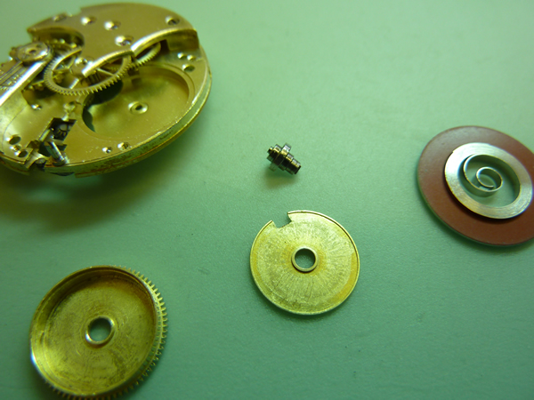 Barrel Assembly - Fitting a new mainspring