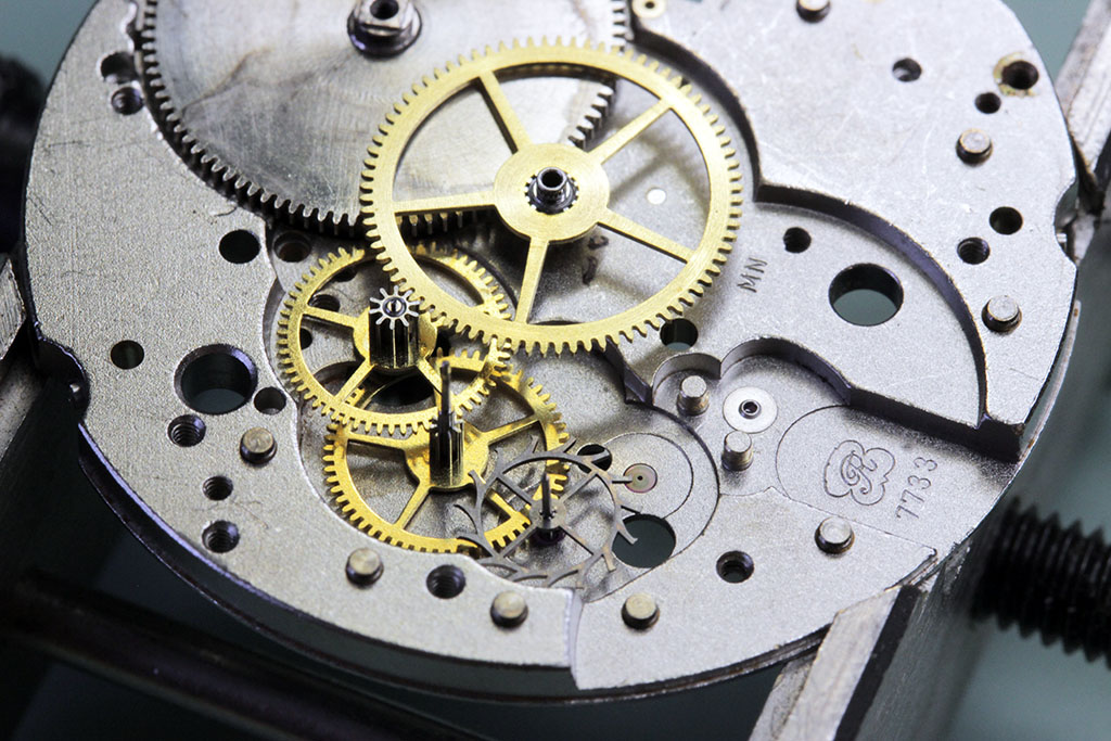 Re-assembly of the watch